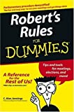 img - for Robert's Rules For Dummies by C. Alan Jennings (2004) Paperback book / textbook / text book