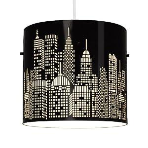 MiniSun - Modern York Skyline Ceiling Pendant Light Shade by MiniSun