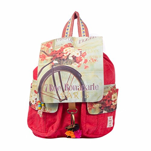 The House Of Tara Women'S Backpack Handbag(Multicolour, Htbp 082)