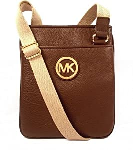Michael Kors Fulton Shoulder Bag Brown 74