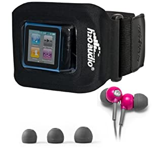 H2O Audio Amphibx Fit Waterproof Case & Headphones for iPod Nano & Shuffle