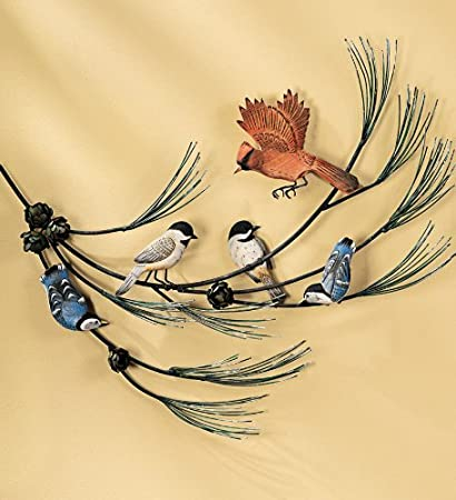 Flying Birds Metal Wall Art Beautiful Birds For Wall