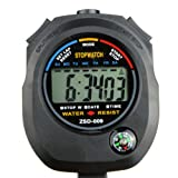 Generic Waterproof Chronograph Timer Stopwatch Sport Counter Digital Odometer