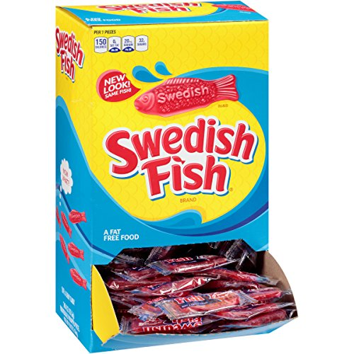 Swedish fish soft chewy candy original 240 count for Who makes swedish fish