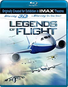 IMAX: Legends of Flight (Single-Disc Blu-ray 3D/Blu-ray Combo) by IMAGE ENTERTAINMENT