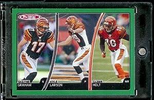 Buy 2007 Topps Total # 283 Glenn Holt - Kyle Larson - Shayne Graham - Cincinnati Bengals - Football Card by Topps