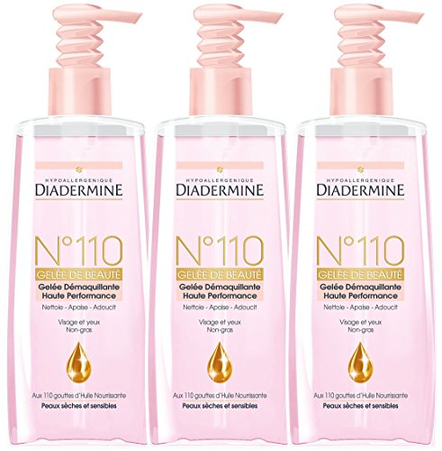 Diadermine - Jelly Cleansing Beauty N110 - 200ml - Set di 3