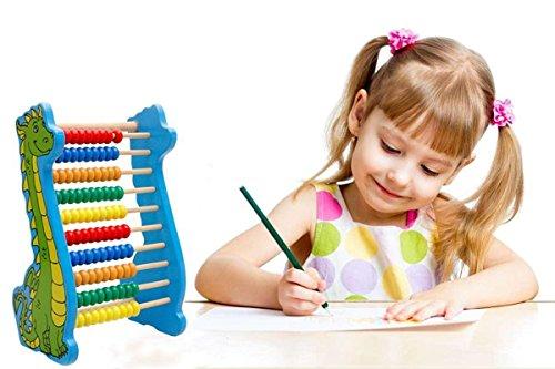 Lewo-Boulier-Abaque-en-Bois-Dinosaures-Calcul-et-Mathmatique-Jouet-Educatif-pour-Enfants