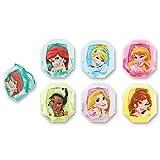 DecoPac Disney Princess Gemstone Princess Cupcake Rings (12 Count)
