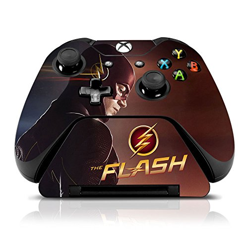 the-flash-looking-in-time-xbox-one-skin-set-for-controller-and-controller-stand-officially-licensed-