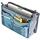 Domire Handbag Pouch Bag in Bag Organiser Insert Organizer Tidy Travel Cosmetic Pocket Makeup Bag