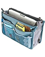 Domire Handbag Pouch Bag in Bag Organiser Insert Organizer Tidy Travel Cosmetic Pocket Makeup Bag