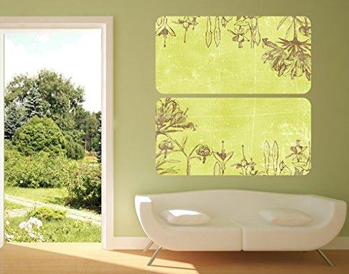 sticker-mural-adhesif-late-summer-duo-grosse200cm-x-200cm