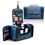 Lavievert Toiletry Bag / Makeup Organizer / Cosmetic Bag / Portable Travel Kit Organizer / Household Storage Pack / Bathroom Storage with Hanging for Business, Vacation, Household