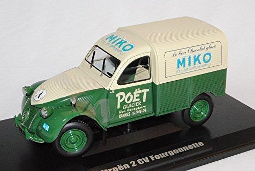 citroen-2cv-fougonette-kasten-miko-1952-1-18-norev-modell-auto