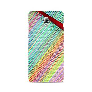 Ebby Broken Abstract Lines Premium Printed Case For Lenovo Vibe P1