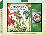 Flower Gardeners Journal & Magnet Gift Set: Record Garden Info, Keep Track of Plants, and Find Inspiration