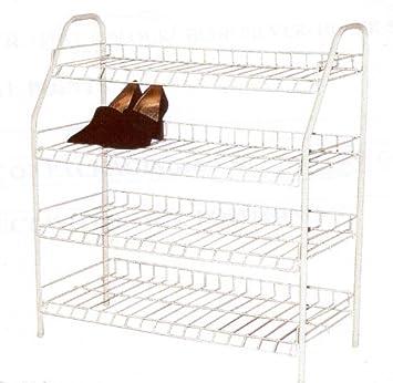 etagere chaussure en metal