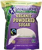 Wholesome Organic Powdered Sugar 4.5lbs.
