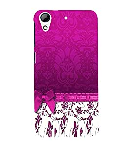 Pink Pattern Back Case Cover for HTC Desire 626::HTC Desire 626G Plus::HTC Desire 626G+