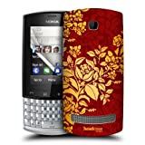 Head Case Cardinal Modern Baroque Protective Back Case Cover For Nokia Asha 303