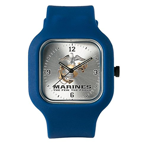Navy Blue Fashion Sport Watch Marines The Few The Proud