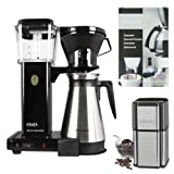 Technivorm 9587 KBT-741 Moccamaster Coffee Brewer With Thermo Carafe Holiday Bundle
