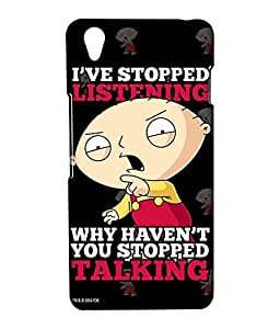 Family Guy - Just Stop Talking - Case for OnePlus X