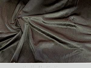 108'' Wide 40 Denier Tricot Black Fabric By The Yard
