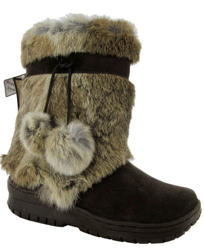 Image BEARPAW Women's Tama Rabbit Fur Boot