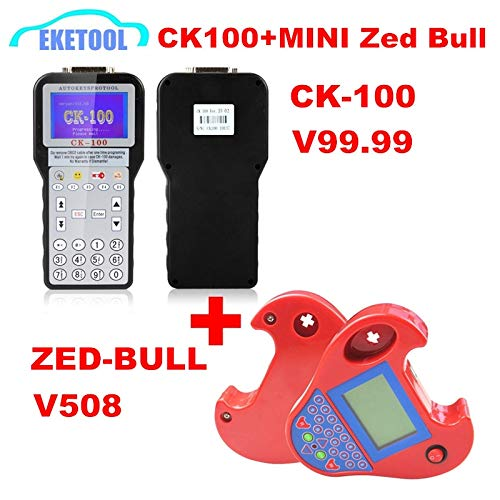Best Quality CK100 V99.99 SBB V48.99 V48.88 SBB PRO2 V48.88 No Tokens Limited&MINI Zed Bull V508 Multi-Language Multi-Cars (CK100 99.99 ZED BULL) (Color: CK100 99.99 ZED BULL)