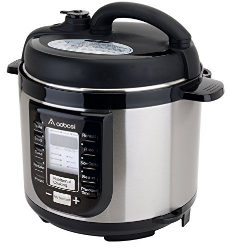Aobosi YBW40-80B1 Programmable Pressure Cooker 4Qt/800W Stainless Steel Cooking Pot Digital Cooker (Pressure Cooker 4qt Stainless compare prices)