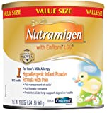 Nutramigen with Enflora LGG, For Cows Milk Allergy, 19.8 Oz (Pack of 4)