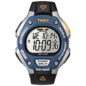 Timex T5E931 Mens 30-Lap Ironman Resin Strap Watch