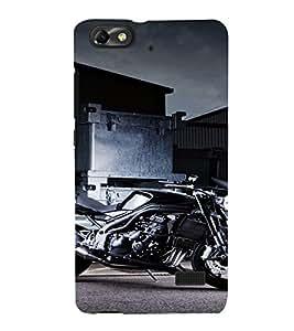 PrintVisa Sports Bike Design 3D Hard Polycarbonate Designer Back Case Cover for Huawei Honor 4C