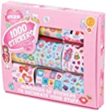Tobar Stickers for Girls Craft (1000-piece)