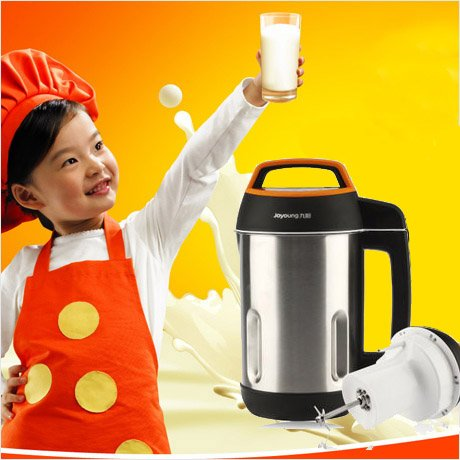 BONUS PACK! Joyoung CTS-1078 Easy-Clean Automatic Hot Soy Milk Maker with FREE Soybean Bonus Pack