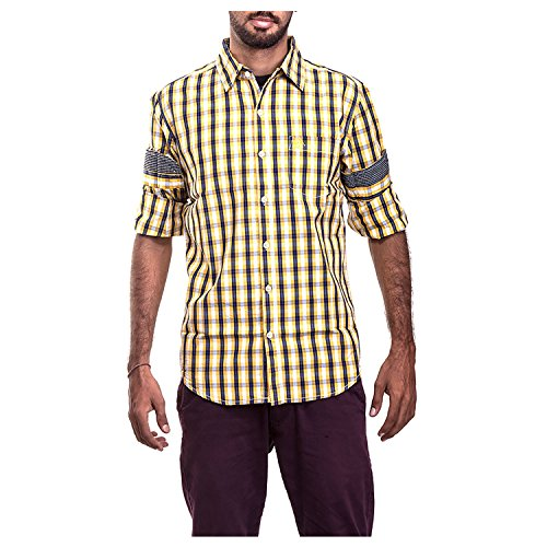 Polo Urban Polo Club Yellow Multicolored Shirt - Full Sleeve