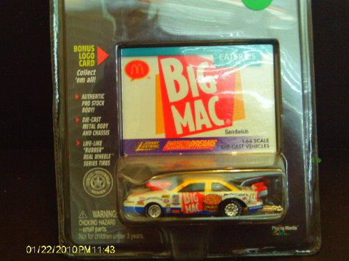 Big Mac Johnny Lightning Racing Dreams Eateries Series - 1