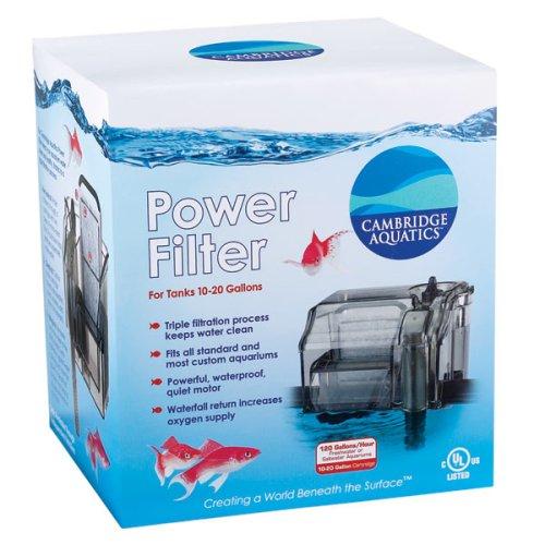 10 20 gallon fish tank hall of flowers 20 gallon fish for Fish filter walmart