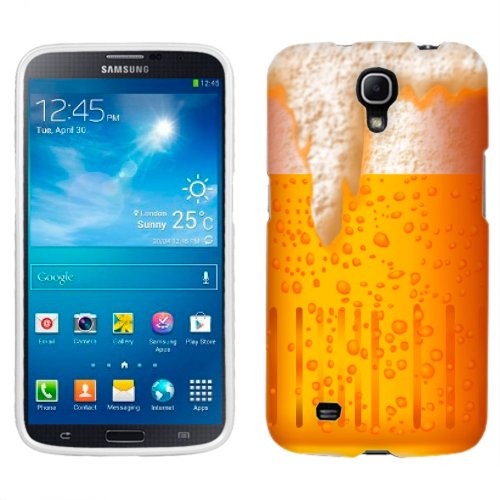 Amazon.com: Samsung Galaxy Mega Beer Illustration on White Phone Case