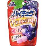 【ケース販売】森永 ハイチュウプレミアム 赤ぶどう 35g×10袋