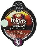 Folgers Lively Colombian Keurig K-Carafe Pack, 8 Count