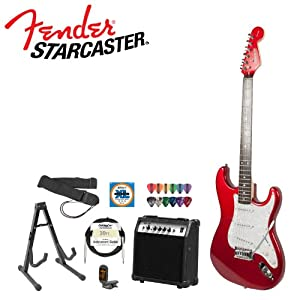 fender musical instruments corp 028 0001 540 amp kit starcaster fiesta red electric. Black Bedroom Furniture Sets. Home Design Ideas