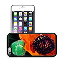 buy Luxlady Premium Apple Iphone 6 Plus Iphone 6S Plus Aluminum Backplate Bumper Snap Case Image Id 31561802 A Bumble Bee Collecting Pollen In A Poppy
