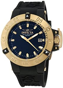 Invicta 10125 - Reloj de pulsera hombre, caucho, color negro