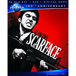 Scarface [Blu-ray + DVD + Digital Copy] (Universal's 100th Anniversary)