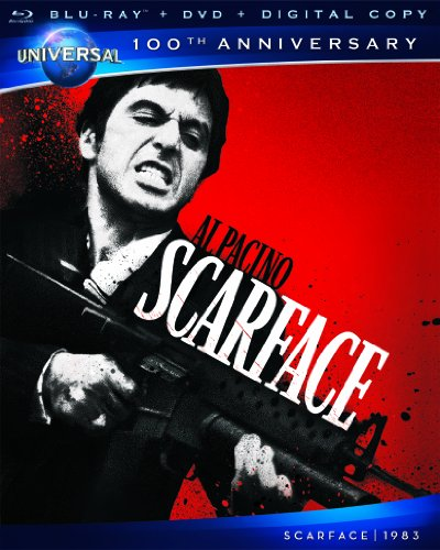 Cover art for  Scarface [Blu-ray + DVD + Digital Copy] (Universal's 100th Anniversary)