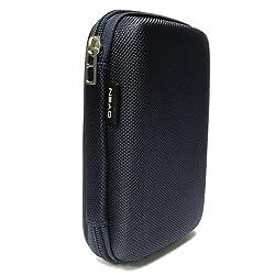 Drive Logic DL-64 Portable EVA Hard Drive Carrying Case Pouch - Blue