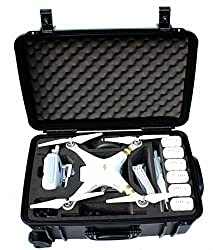 Procraftcases DJI Phantom 3 Professional and Advanced Travel Case Quadcopter Drones Rolling Travel Case with Wheels